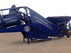 YHZS60 Mobile Concrete Batching Plant