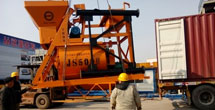 JS500 Concrete Mixer to Turkmenistan